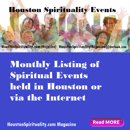 Houston Spirituality Magazine Events page