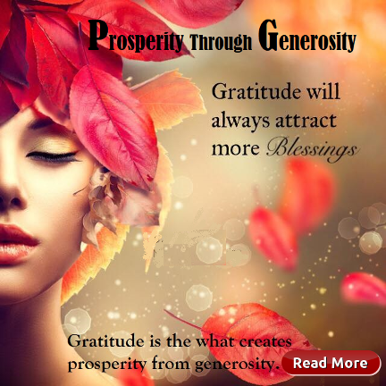 Prosperity through Generosity - Gifting