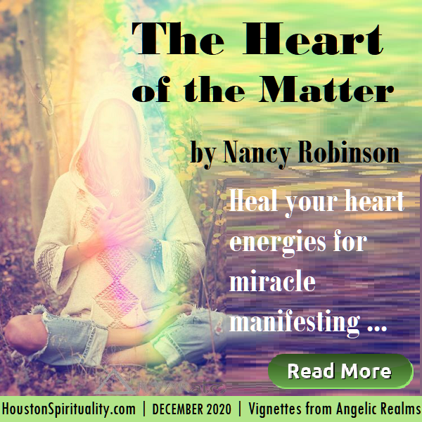 The Heart of the Matter by nancy robinson, heart healing