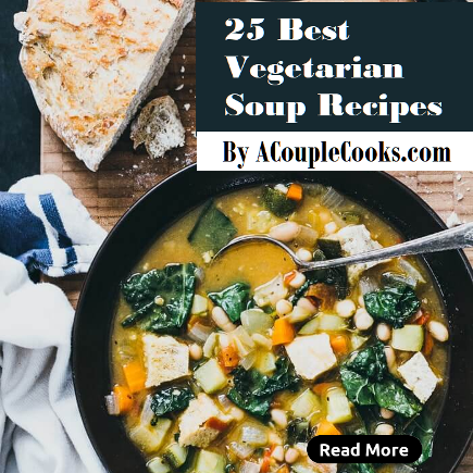 25 best vegetarian soup recipes by acouplecooks.com