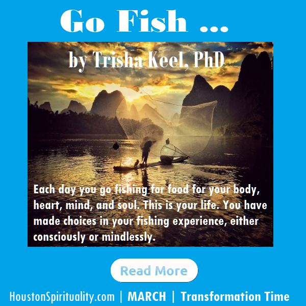 Go Fish by Trisha Keel. Transformation Time, March 2020 HSM