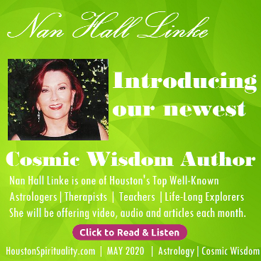 Nan Hall Linke Introducing a new Cosmic Wisdom Author