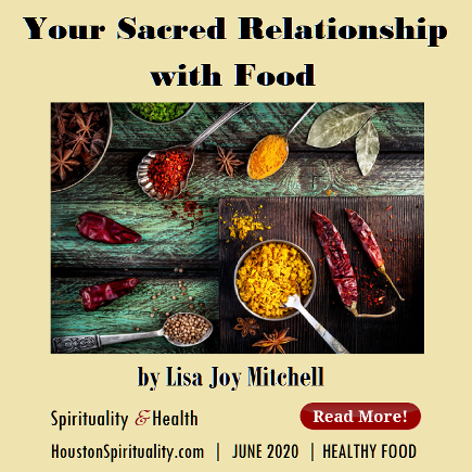 Your Sacred Relationship with Food