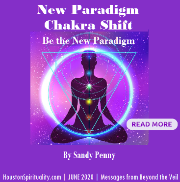JUNE 2020 Gyroscope Chakra Shift by Sandy Penny