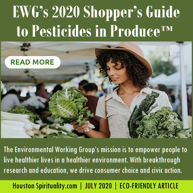 2020 Shopper's Gide to Pesticides in Produce