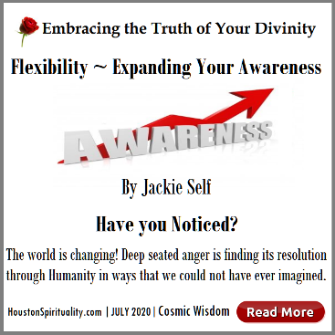Flexibility Expanding Your Awareness by Jackie Self