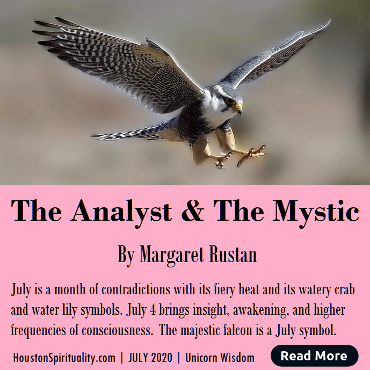 The Analyst & the Mystic July energy 2020 by Margaret Rutan
