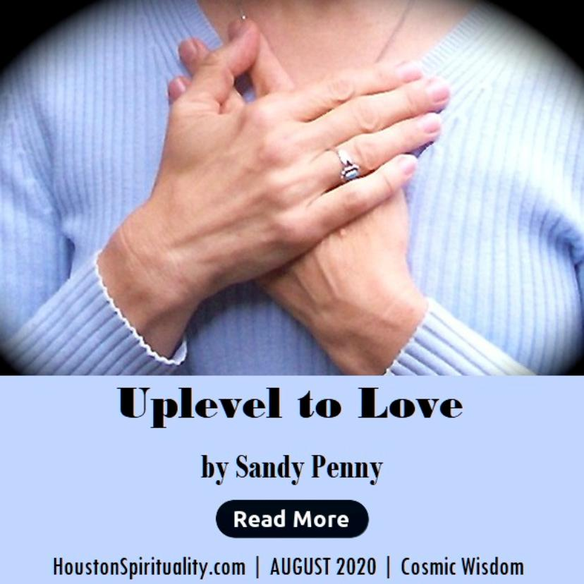 Uplevel to Love by Sandy Penny, Aug 2020 HSM
