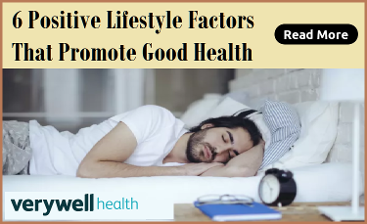 Lifestyle Factors for Good Health