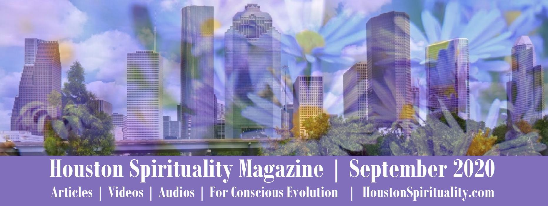SEPTEMBER Houston Spirituality Magazine articles link