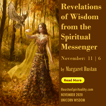 November Revelations of Wisdom from the Spiritual Messenger