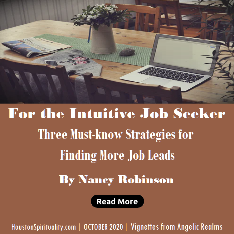 For the Intuitive Job Seeker by Nancy Robinson