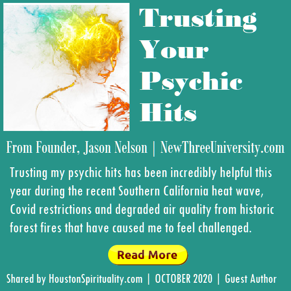Trusting Your Psychic Hits by New 3 University, Jason Nelson