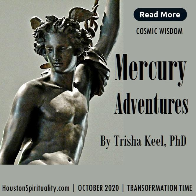 Mercury Adventures by Trisha Keel, Oct. 2020