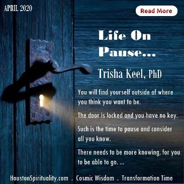 Life on Pause by Trisha Keel. HSM April 2020