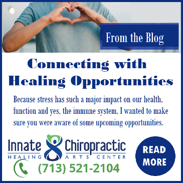 Connecting with Healing Opportunities by Jackie StCyr, Innate Chiropractic