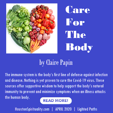 Care for the Body by Claire Papin | Lighted Paths | HSM April 2020