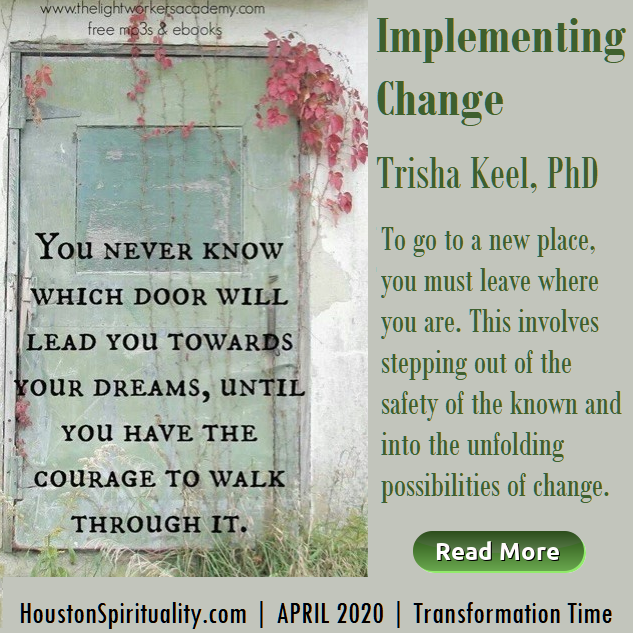 Implementing Change | Trisha Keel | Transformation TIme | HSM April 2020
