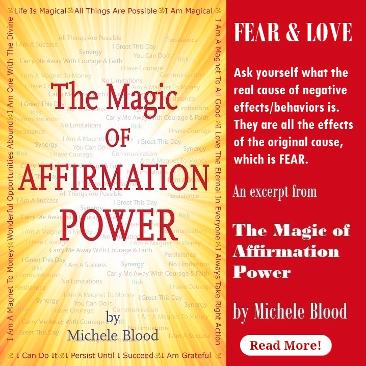 Fear & Love | Excerpt from The Magic of Affirmation Power