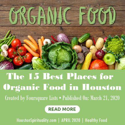 15 bet places for organic food in Houston