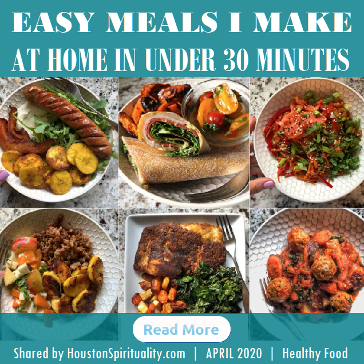 Paleo | Easy Meals I make at home in under 30 minutes
