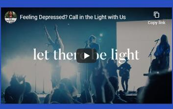 Let there be light video meditation