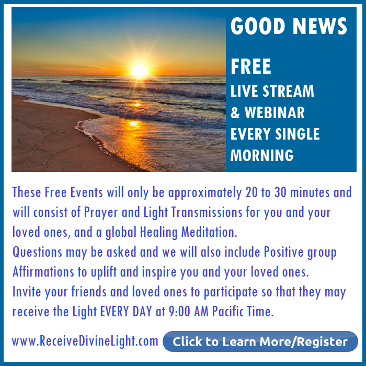 Free Daily Livestream with Michele Blood. Blessings for all