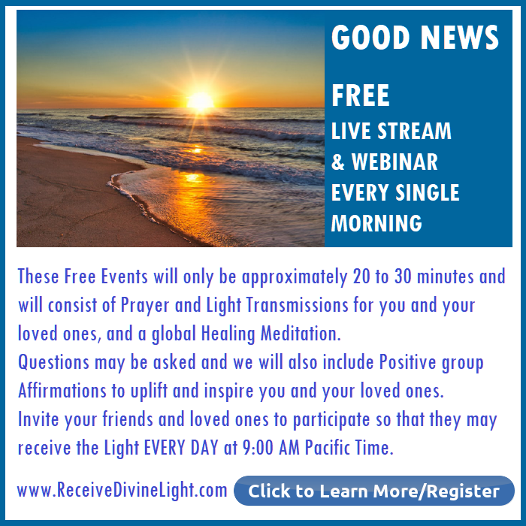 Free Live Stream & webinar every morning with Michele Blood
