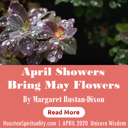 April Showers Bring May Flowers by Margaret Rustan Dixon
