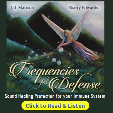 Frequencies for Defense from Coronavirus by Jill Mattson Sharry Efdwards