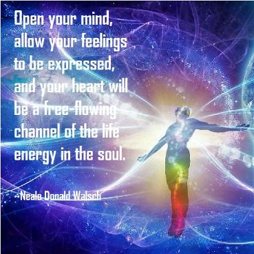 Neale Donald Walsch quote, Open your mind.