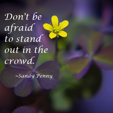 Sandy Penny Soul candy Stand Out