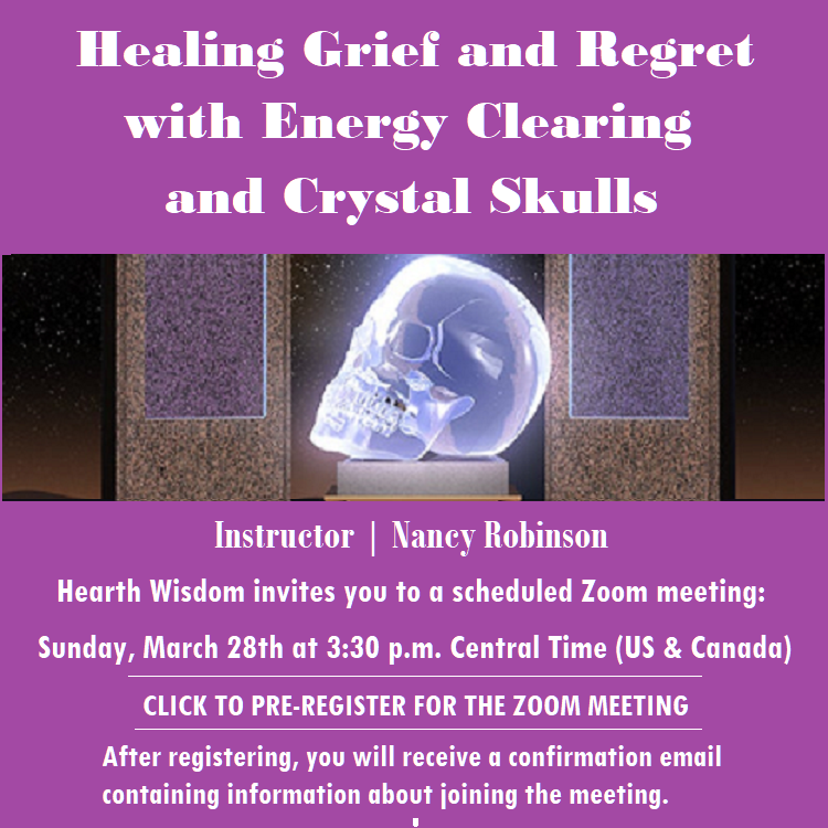 Register for Class: Healing Grief and Regret