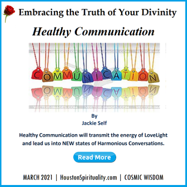 Embracing the Truth of Your Divinity Monthly by Jackie Self