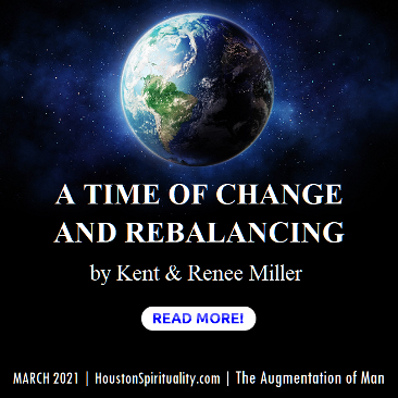 Monthly Cosmic Wisdom by Kent & Renee Miller, Augmentation of Man