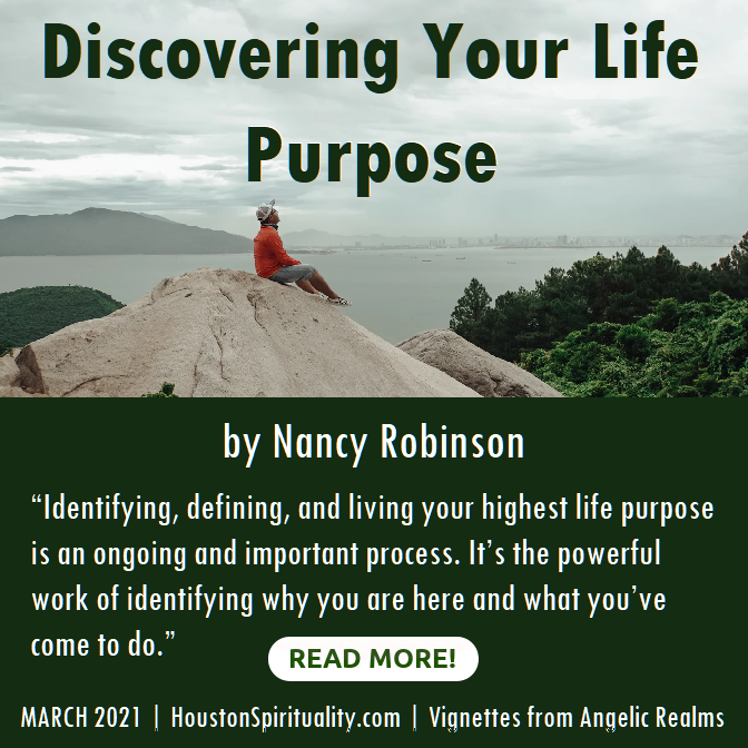 Discovering your life purpose by Nancy Robinson