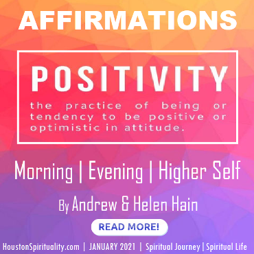 Affirmations for Morning, Evening and Higher Self by Andrew & Helen Hail