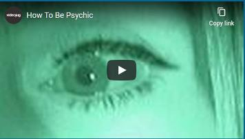 2021 - How to Be Psychic
