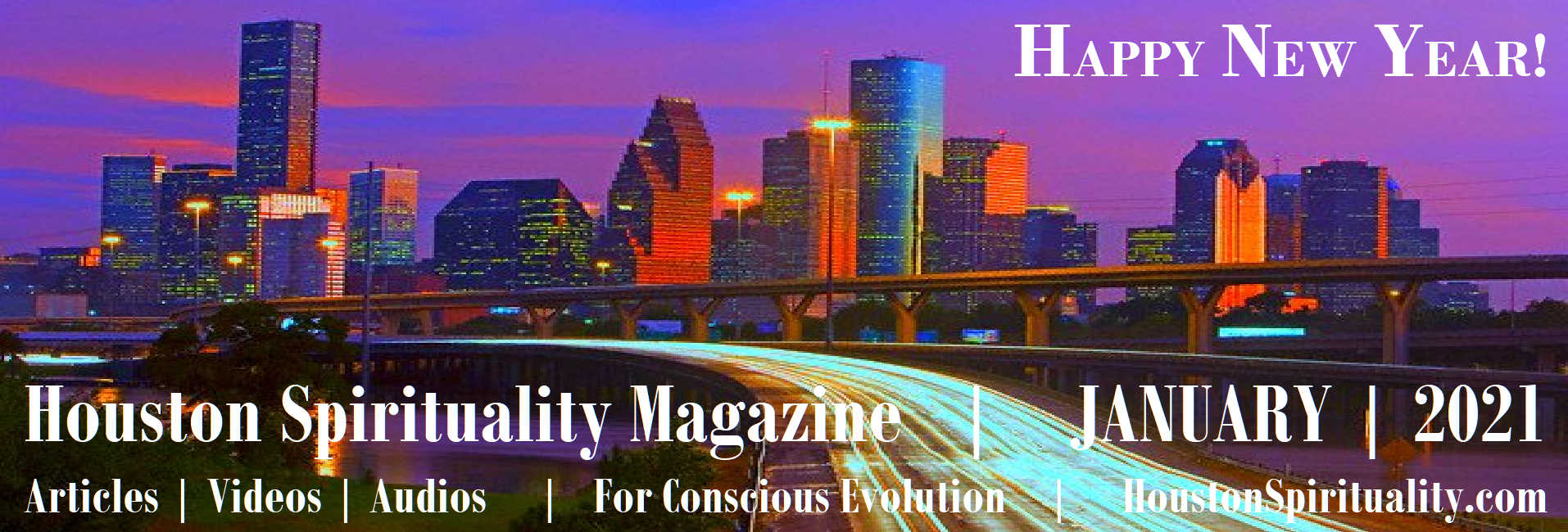JANUARY Houston Spirituality Banner link to articles