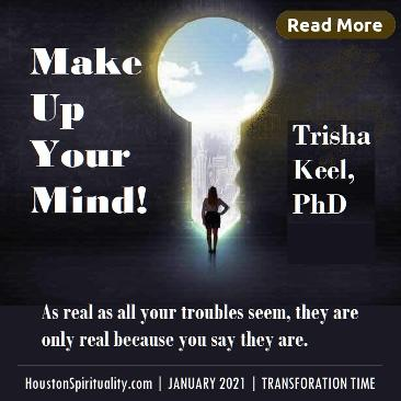 Make Up Your Mind! by Trisha Keel, Jan 2021