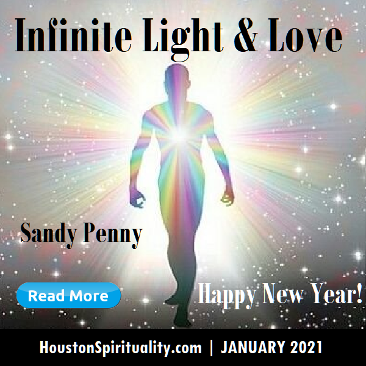 Infinite Light and Love by Sandy Penny