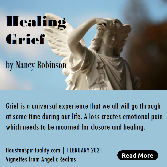 Healing Grief, an article by Nancy Robinson
