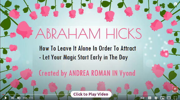 Esther Hicks - How to Let it Go and Manifest