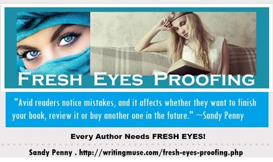 Fresh Eyes Proofing with Sandy Penny