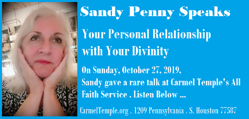 Sandy Penny on Your Personal Relationship With Your Divinity