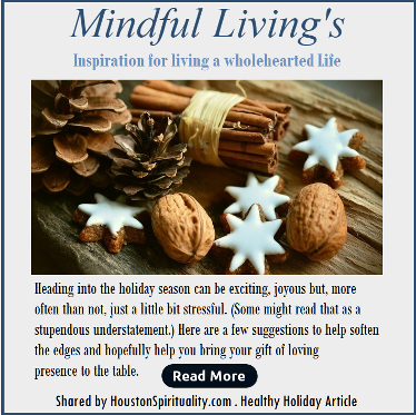 Mindful Living for Healthy Holidays by Micki Fine