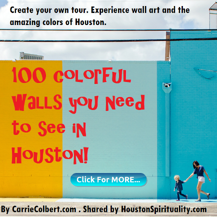 100 Colorful Walls you need to see in Houston. HSM April