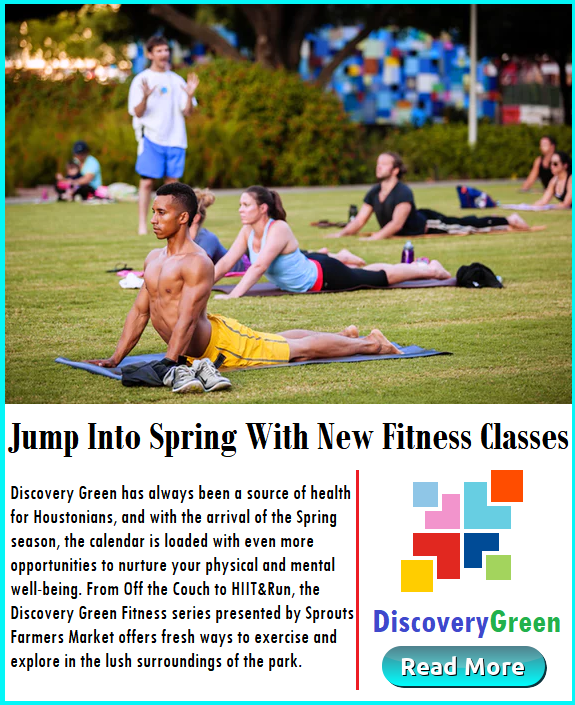 Jump Into SPring with New Fitness Classes