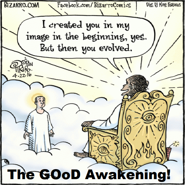 The Good Awakening cartoon