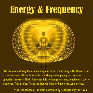 Energy & Frequency by Healing Energy Tools